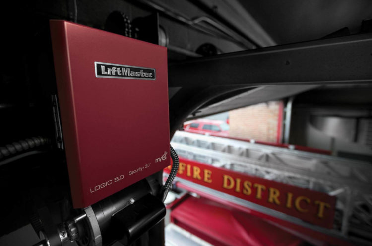 LiftMaster operator at a fire department