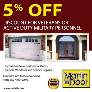 5% off – Veterans Discount